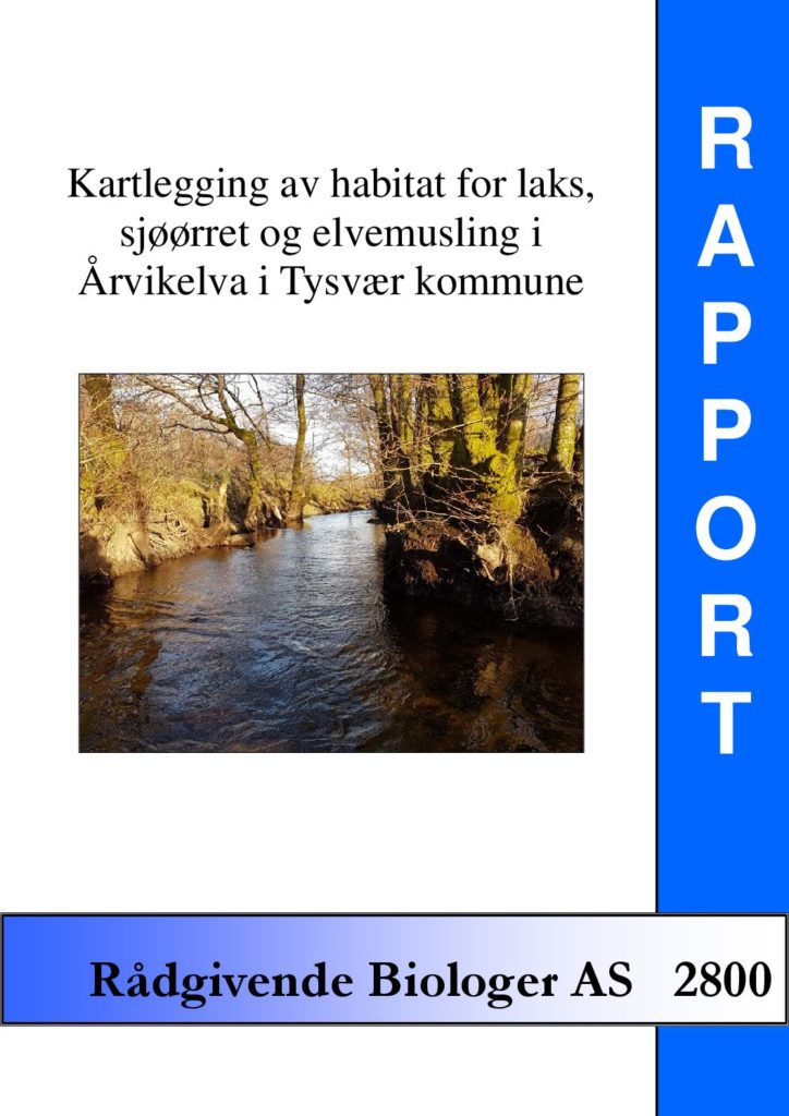 Rapport cover - rapport 2800