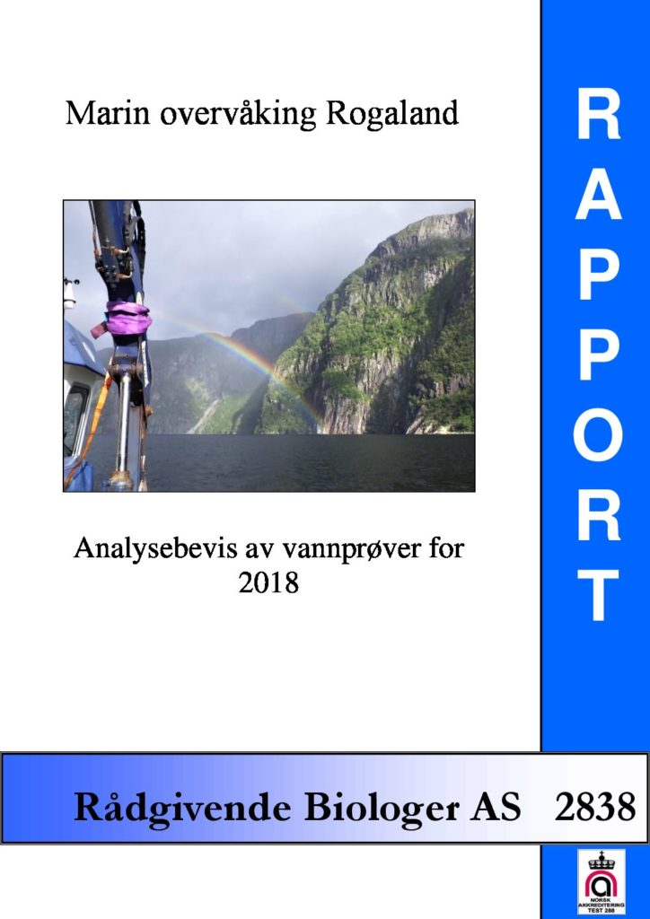 Rapport cover - rapport 2838