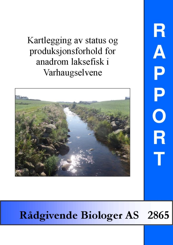 Rapport cover - rapport 2865