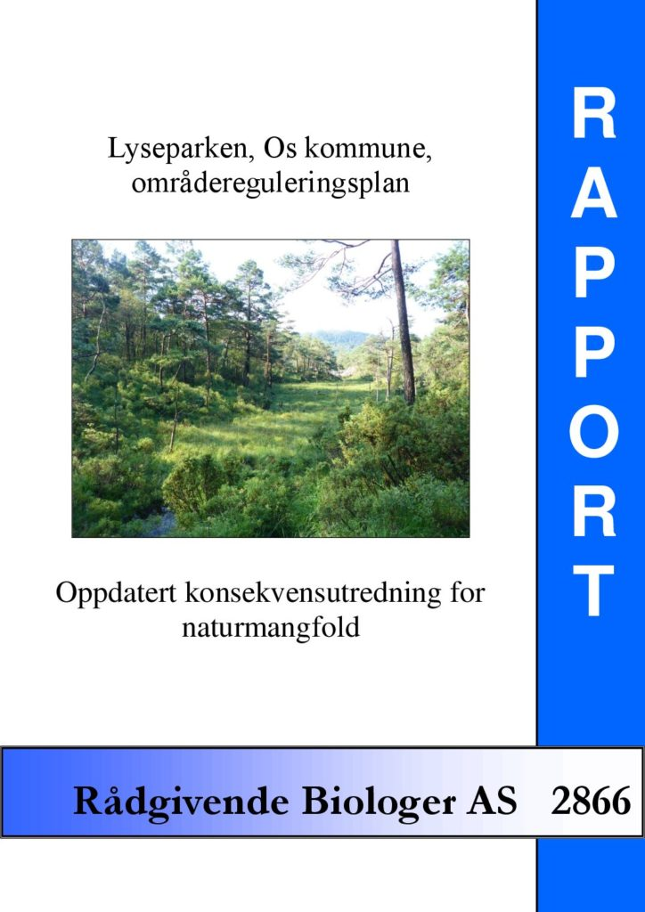 Rapport cover - rapport 2866