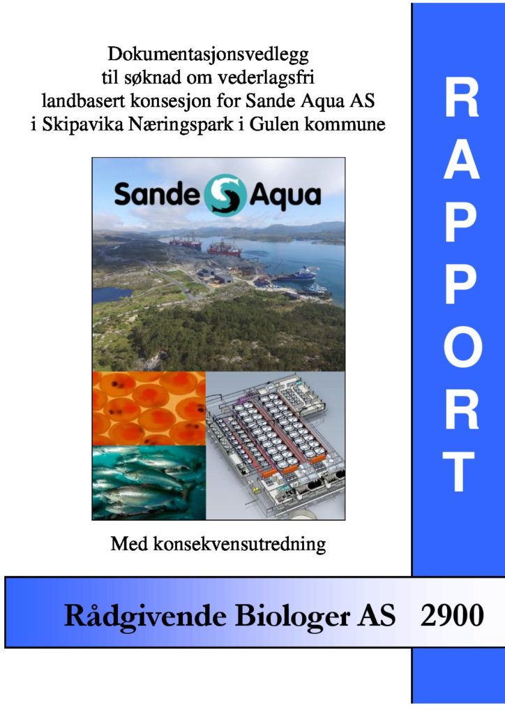 Rapport cover - rapport 2900