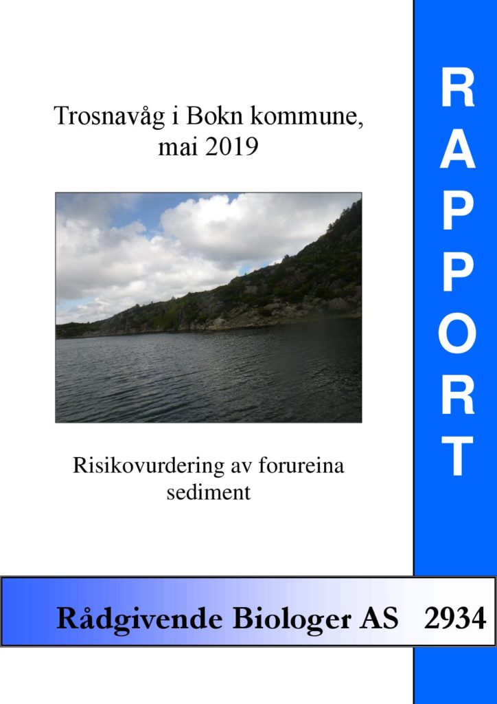 Rapport cover - rapport 2934