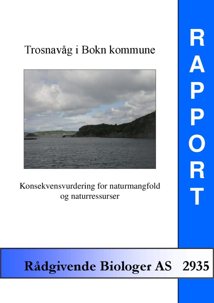 Rapport cover - rapport 2935