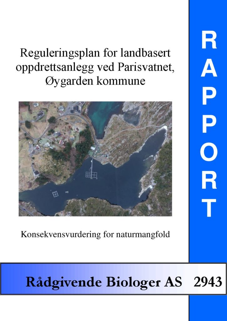Rapport cover - rapport 2943