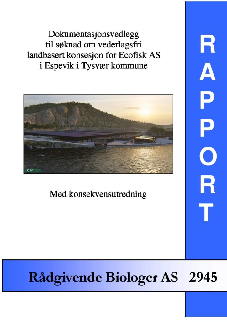 Rapport cover - rapport 2945