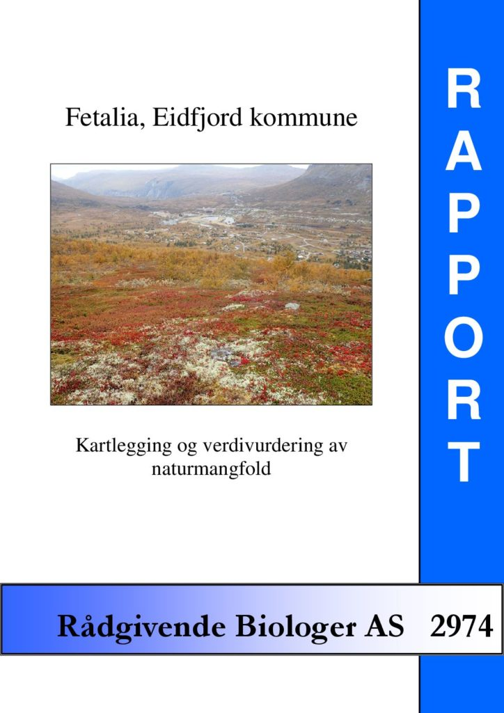 Rapport cover - rapport 2974
