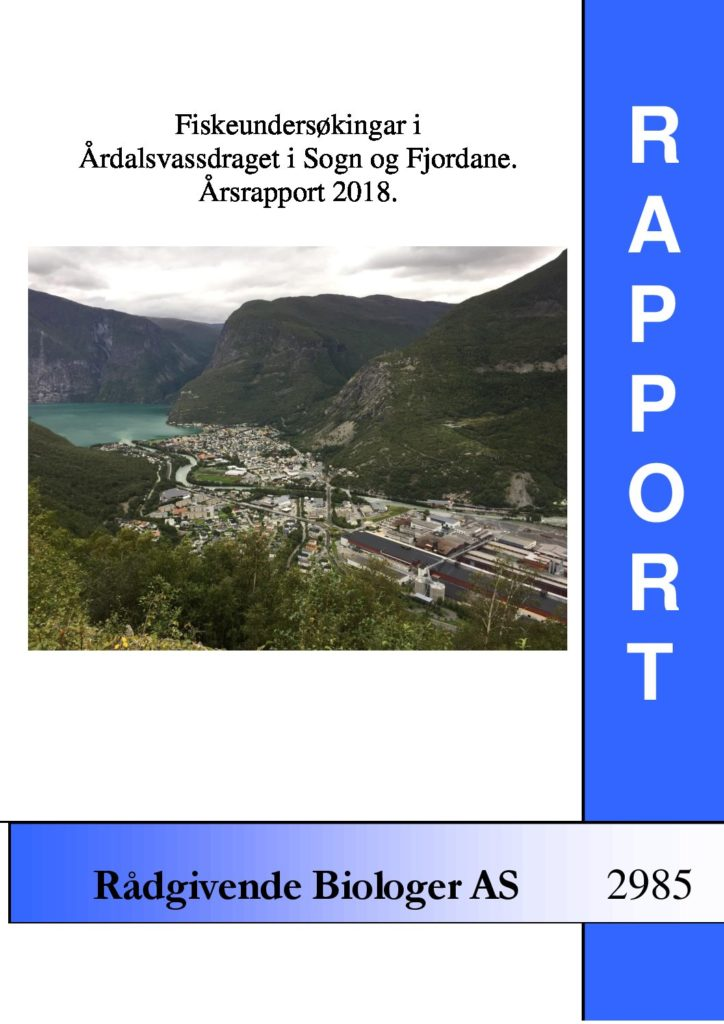 Rapport cover - rapport 2985