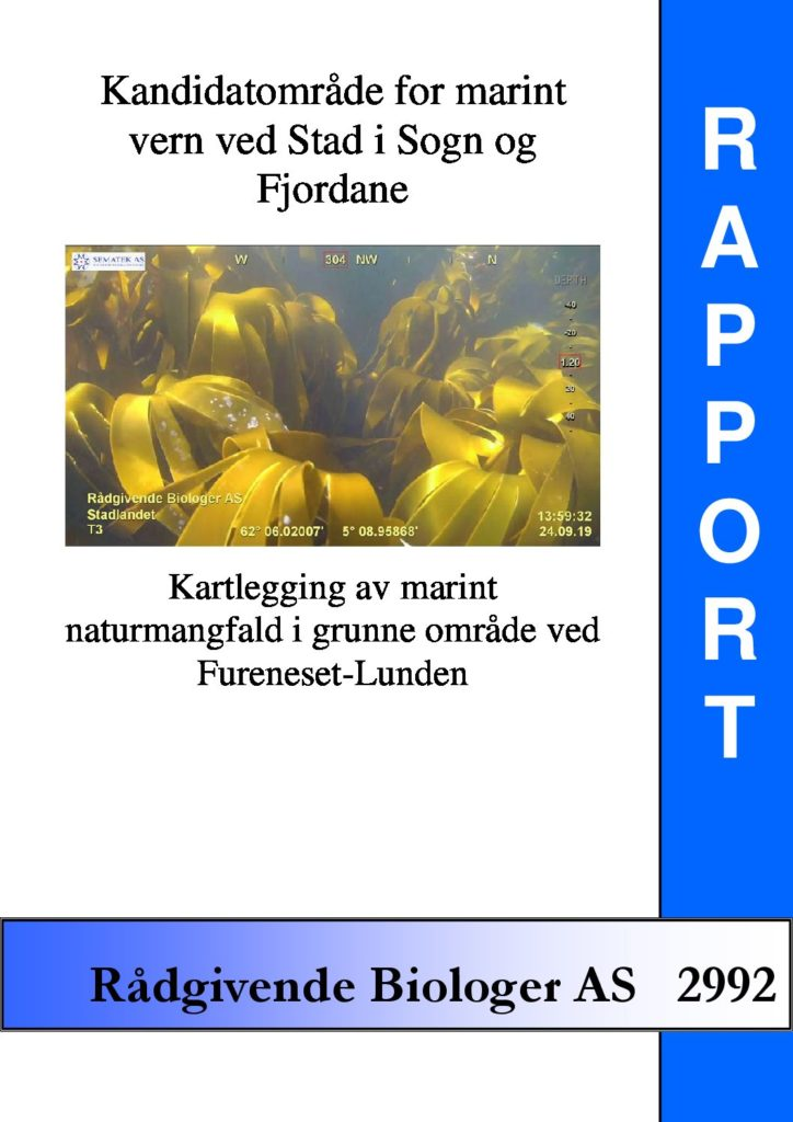 Rapport cover - rapport 2992