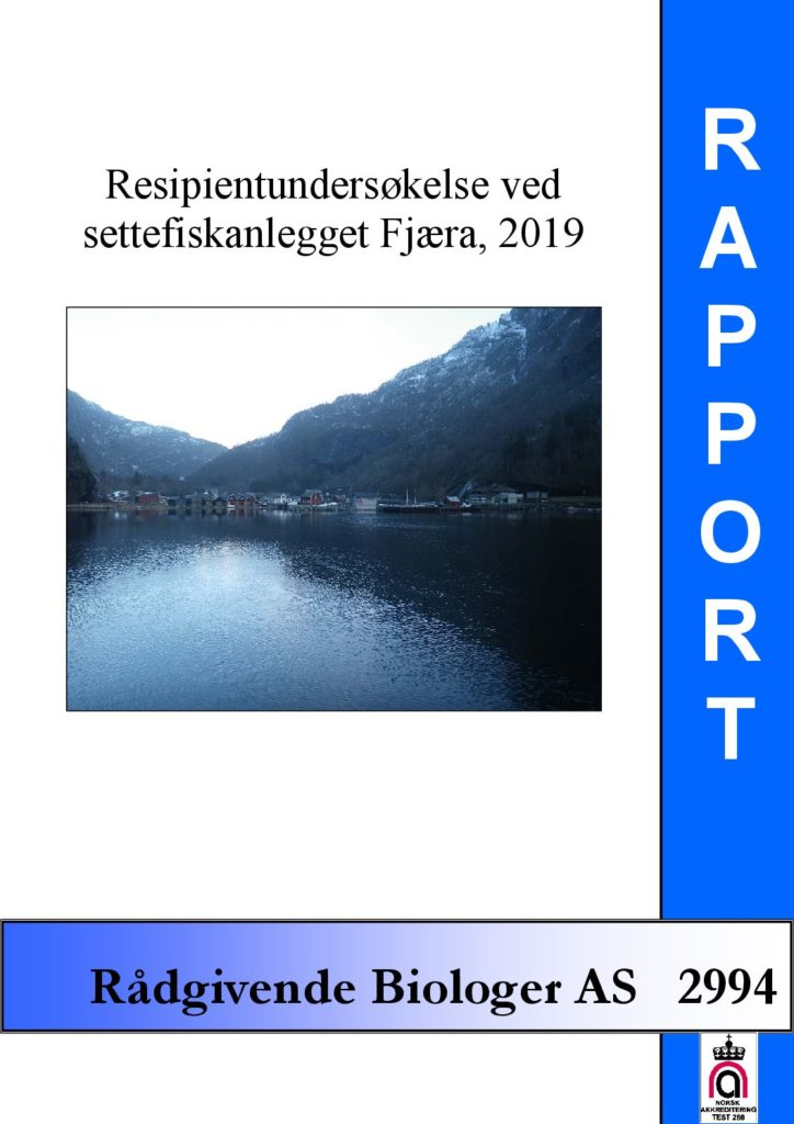 Rapport cover - rapport 2994
