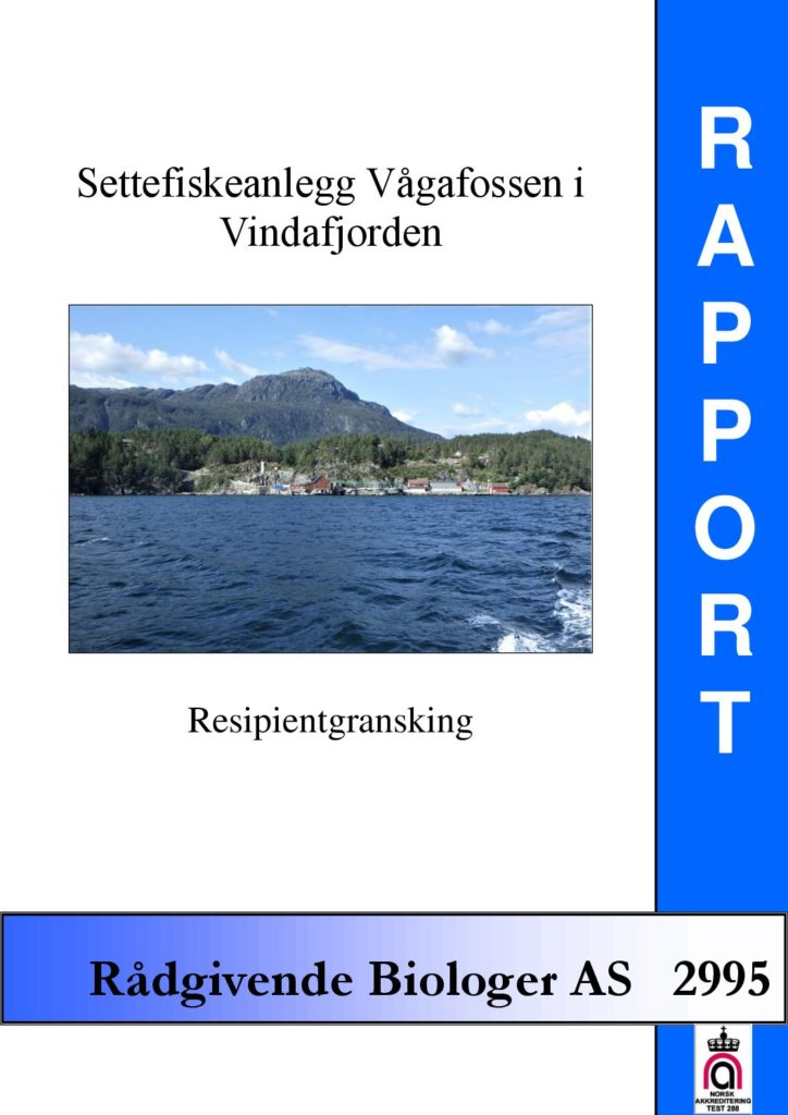 Rapport cover - rapport 2995