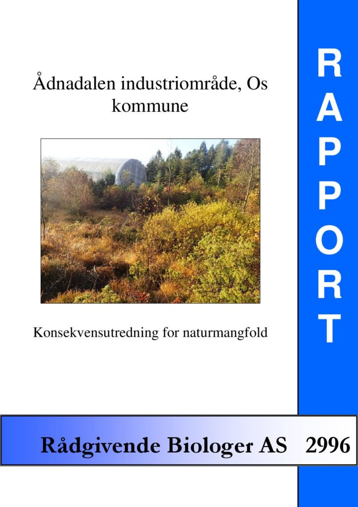 Rapport cover - rapport 2996