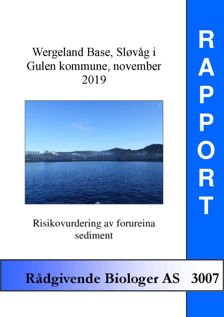Rapport cover - rapport 3007