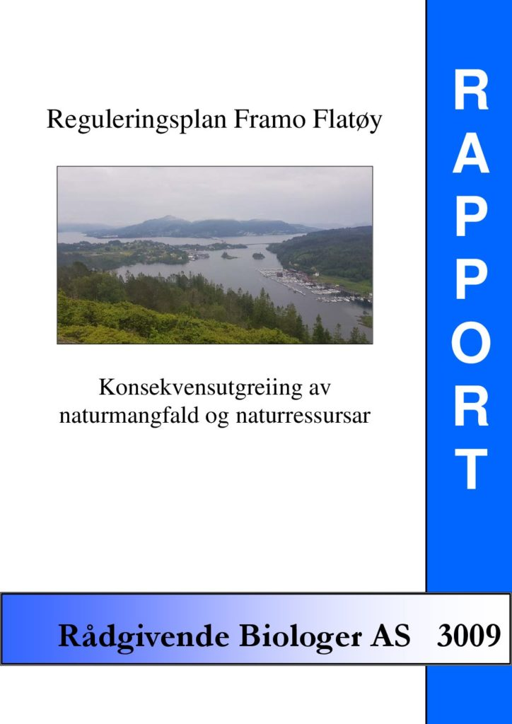Rapport cover - rapport 3009