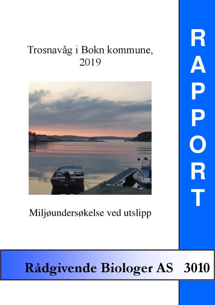 Rapport cover - rapport 3010