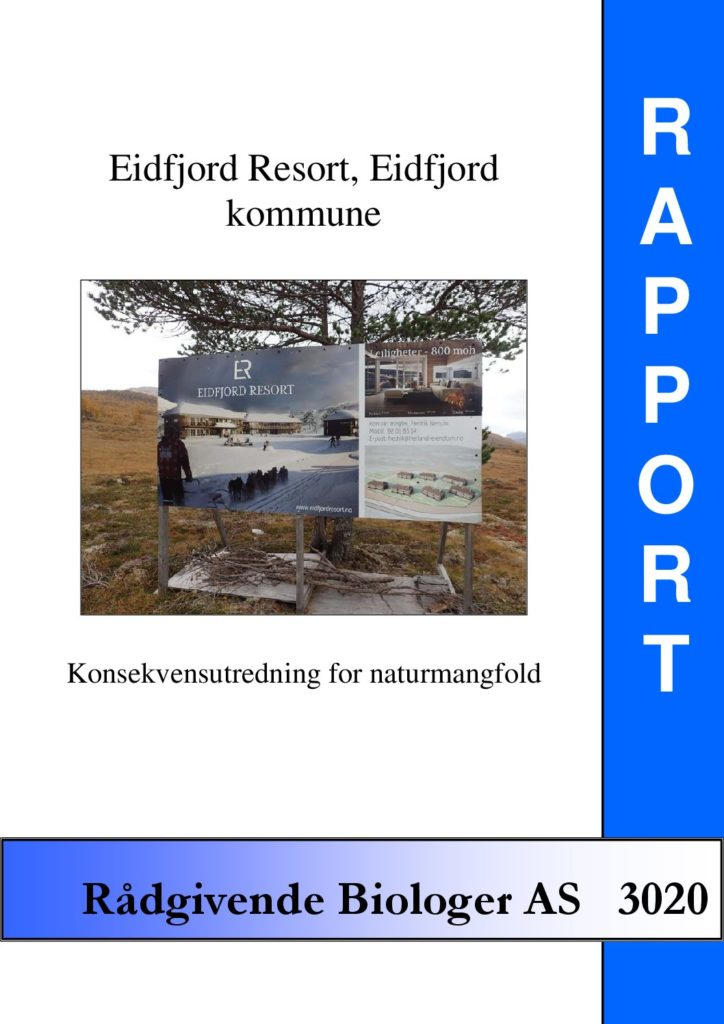 Rapport cover - rapport 3020