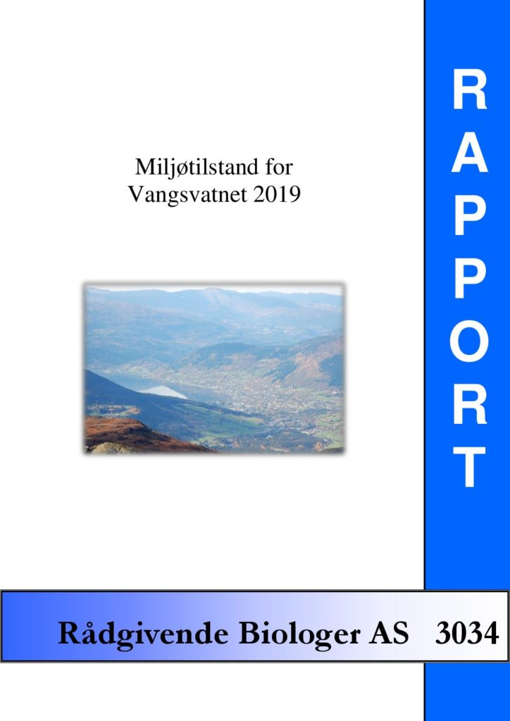 Rapport cover - rapport 3034