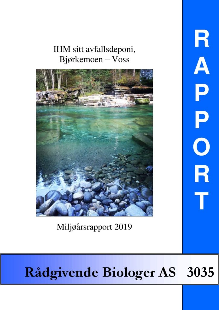 Rapport cover - rapport 3035