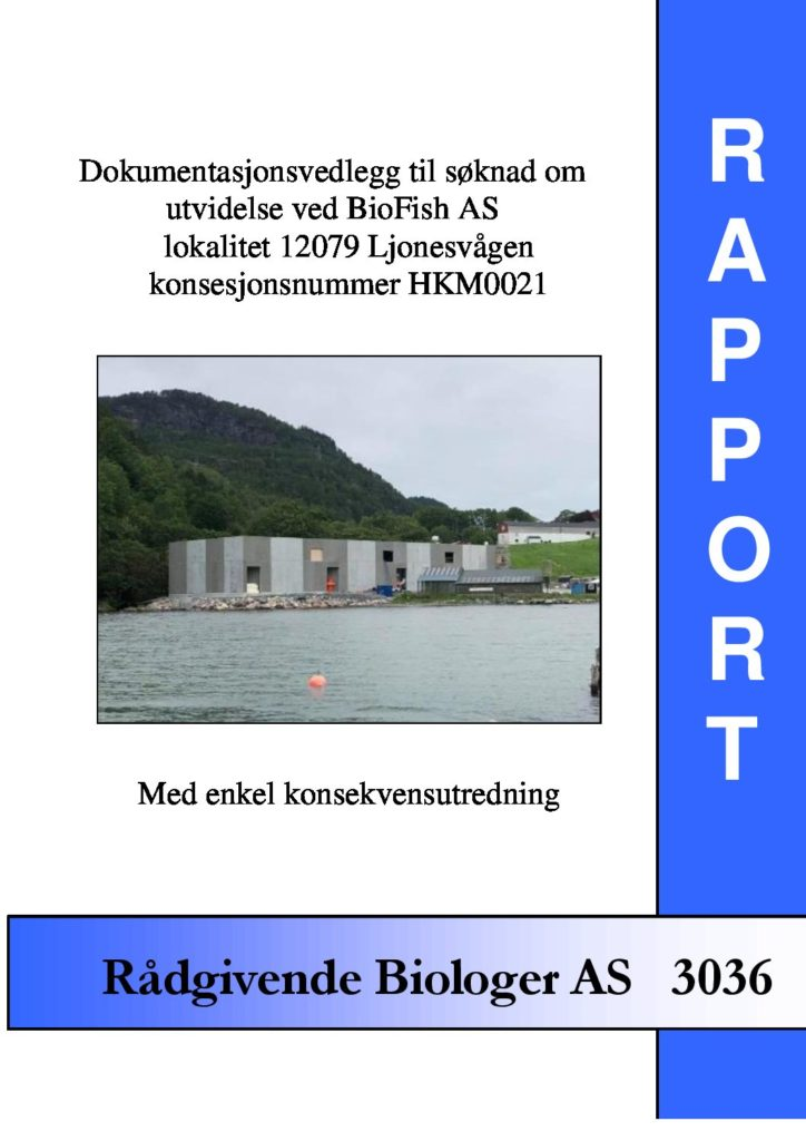 Rapport cover - rapport 3036