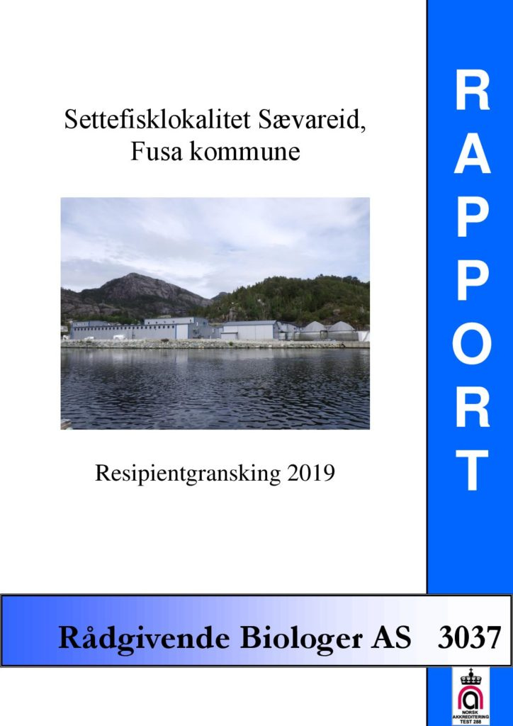 Rapport cover - rapport 3037