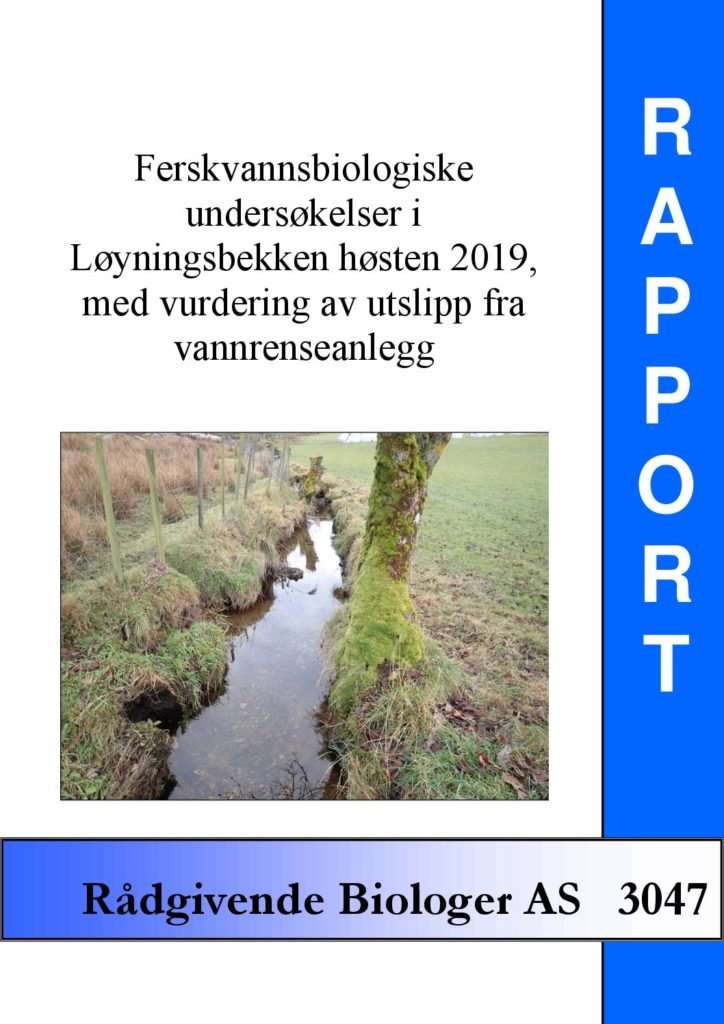 Rapport cover - rapport 3047