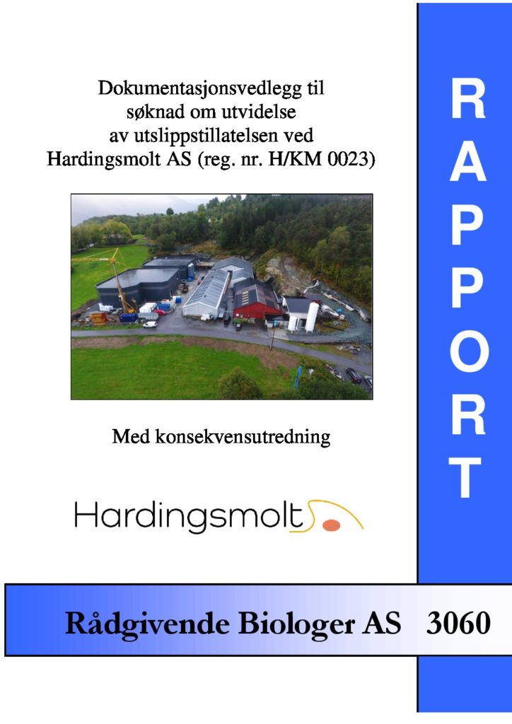 Rapport cover - rapport 3060