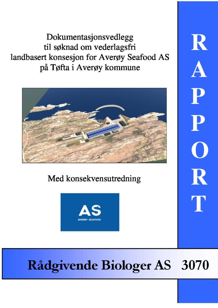 Rapport cover - rapport 3070