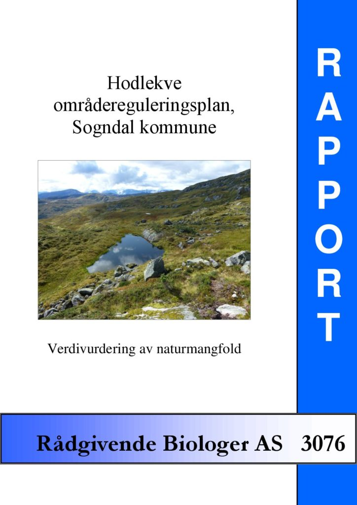 Rapport cover - rapport 3076