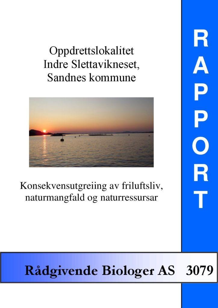 Rapport cover - rapport 3079