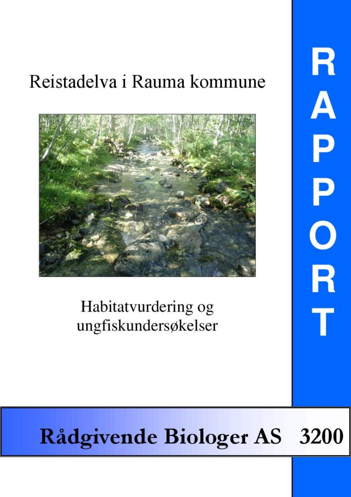 Rapport cover - rapport 3200
