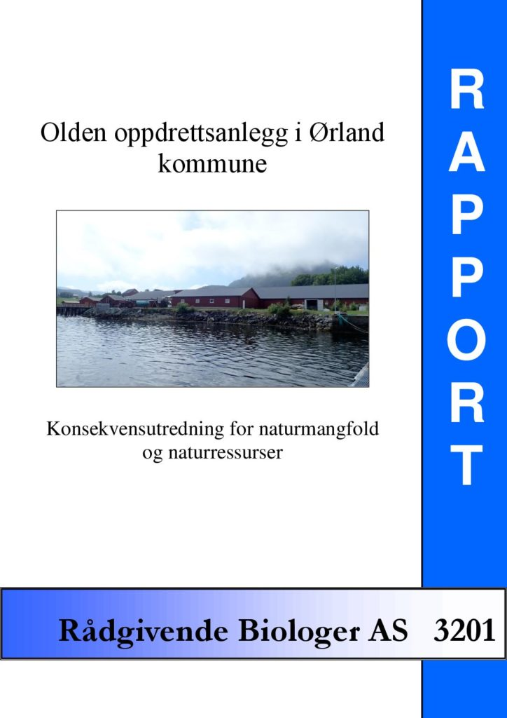 Rapport cover - rapport 3201