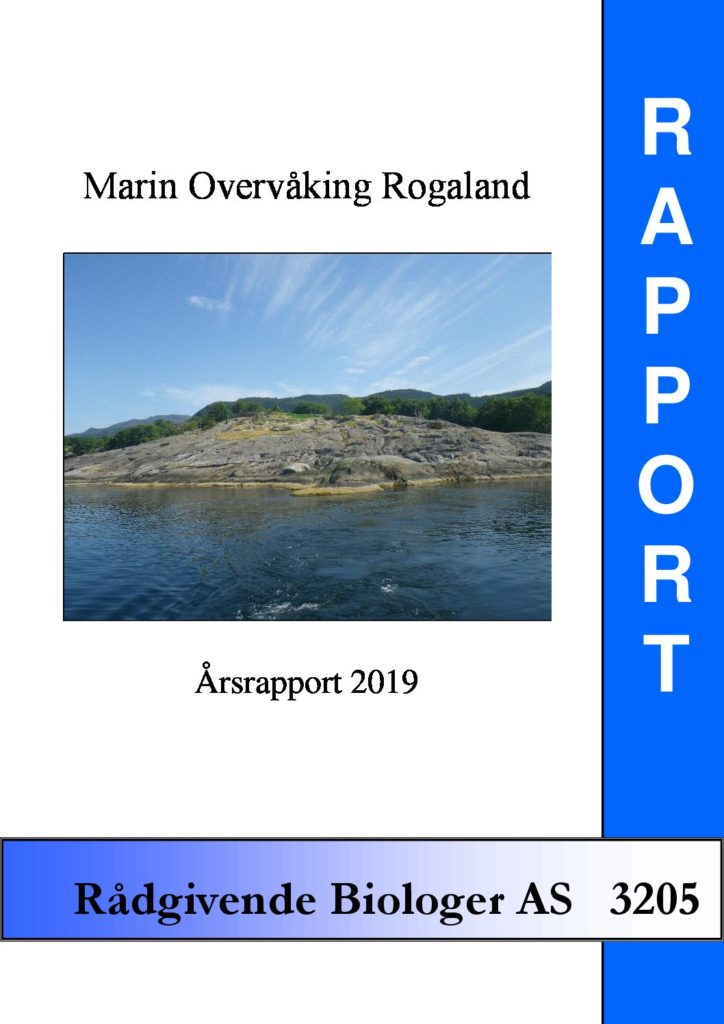 Rapport cover - rapport 3205
