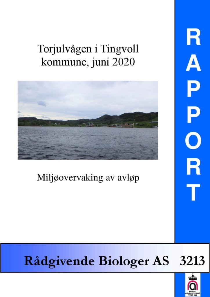 Rapport cover - rapport 3213