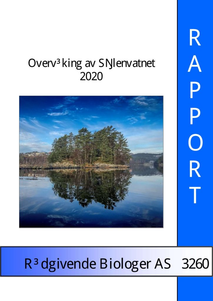 Rapport cover - rapport 3260
