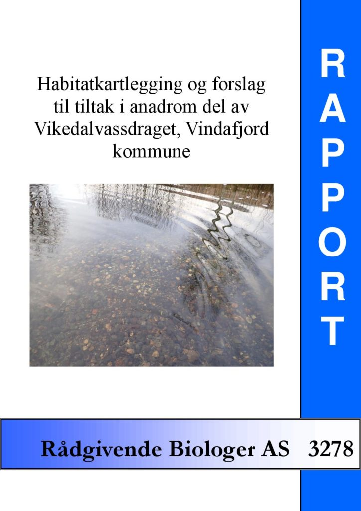 Rapport cover - rapport 3278