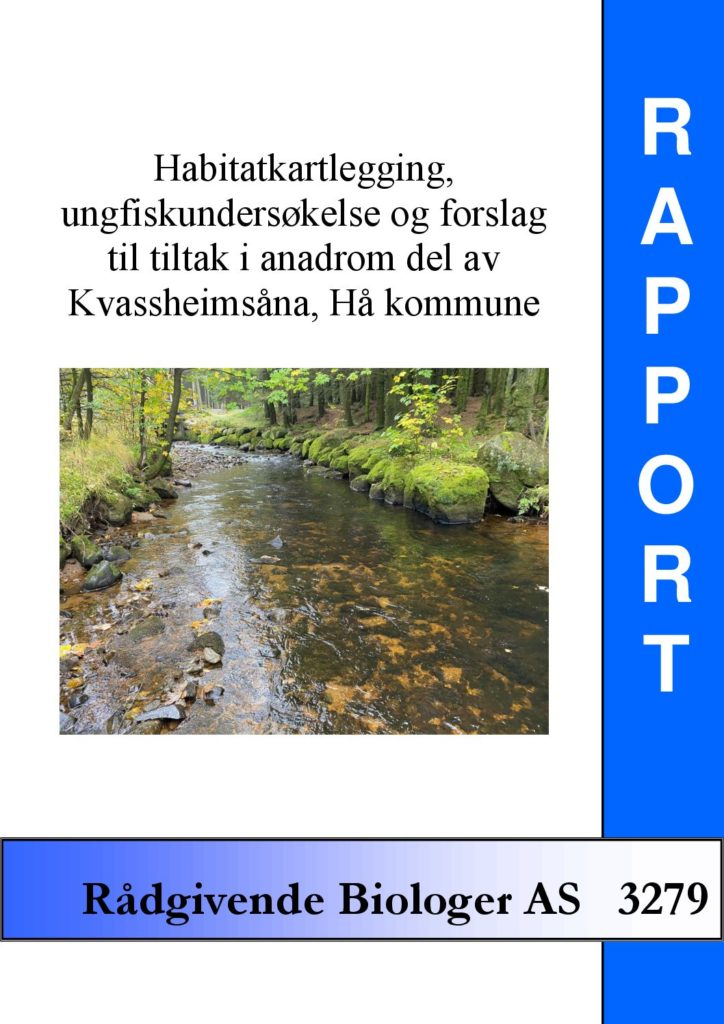 Rapport cover - rapport 3279