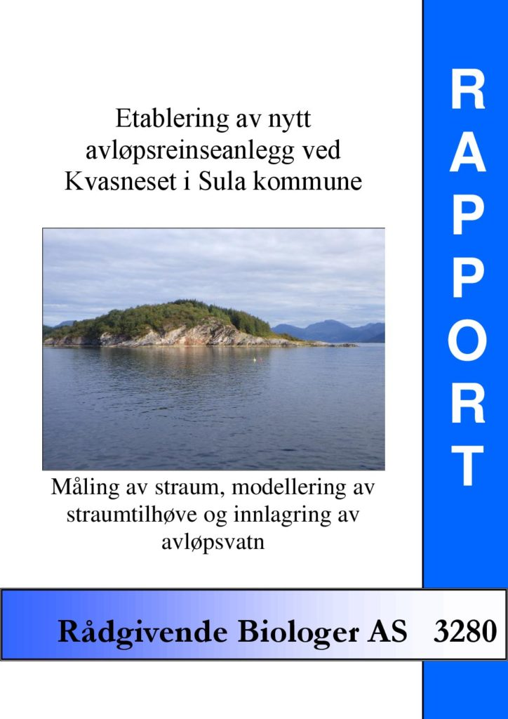Rapport cover - rapport 3280