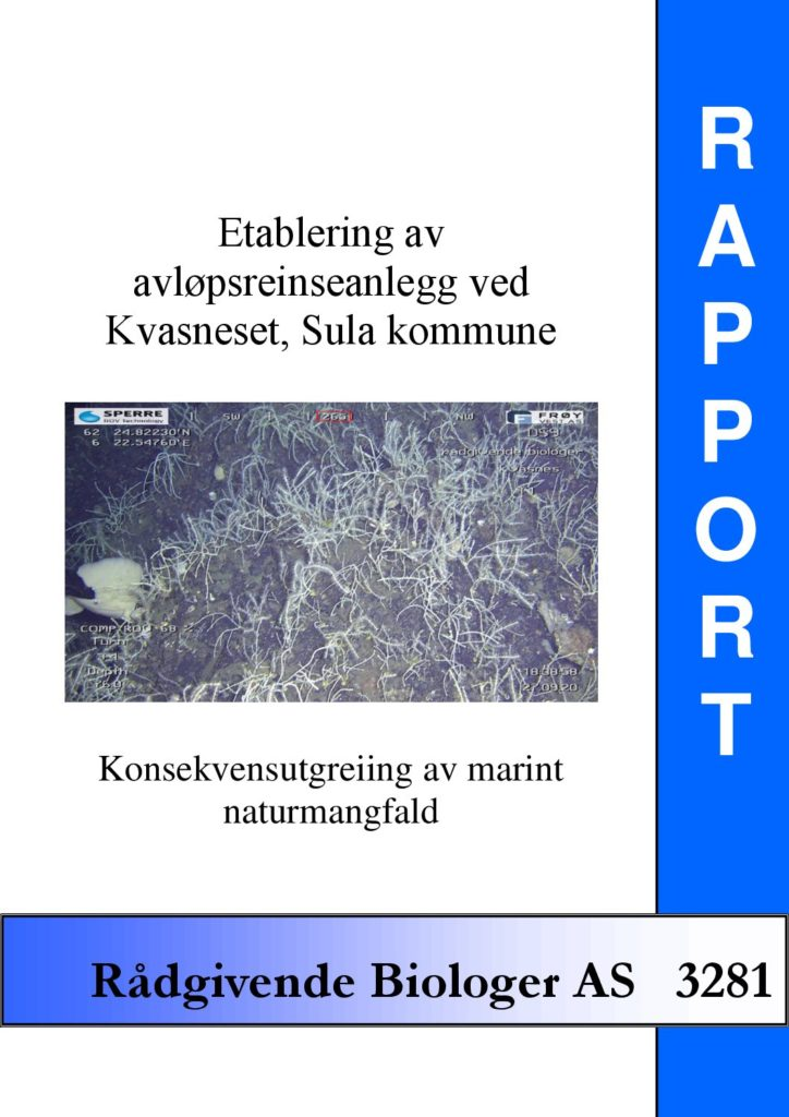 Rapport cover - rapport 3281