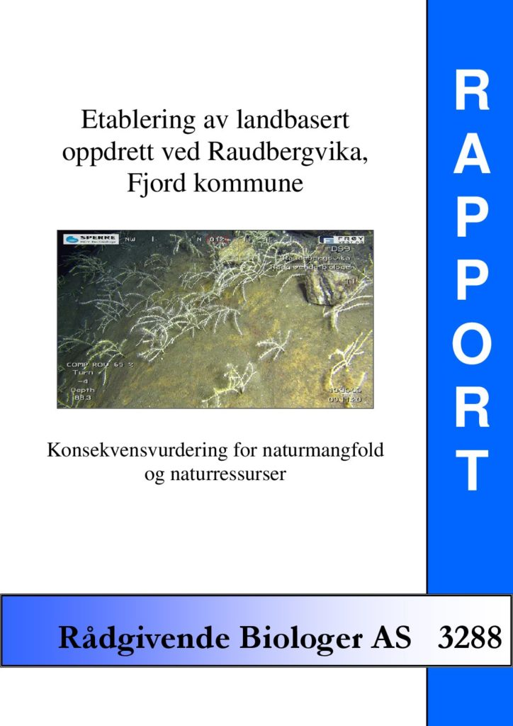 Rapport cover - rapport 3288