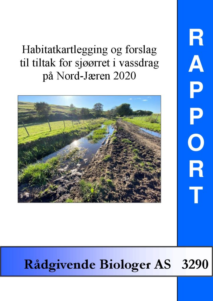 Rapport cover - rapport 3290