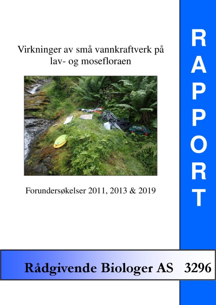 Rapport cover - rapport 3296