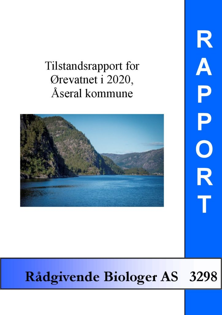 Rapport cover - rapport 3298