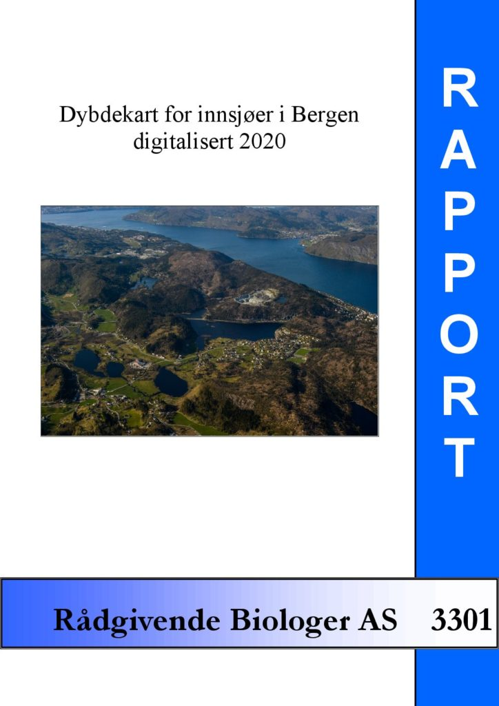Rapport cover - rapport 3301