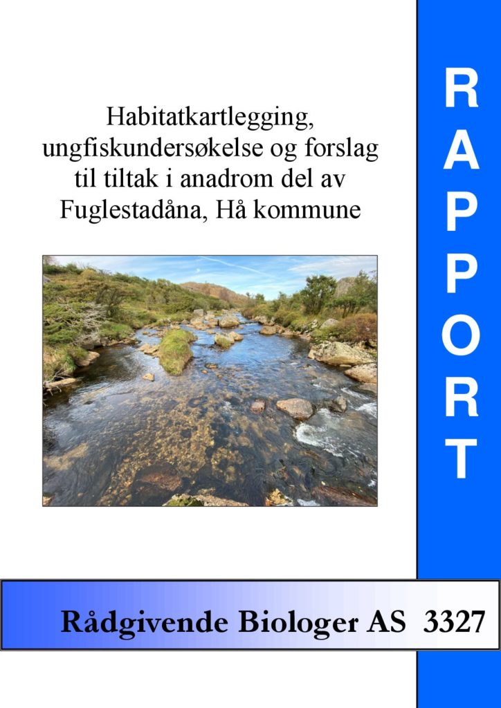 Rapport cover - rapport 3327