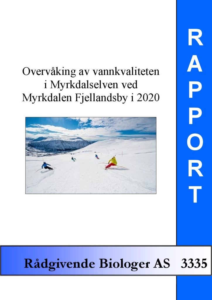 Rapport cover - rapport 3335