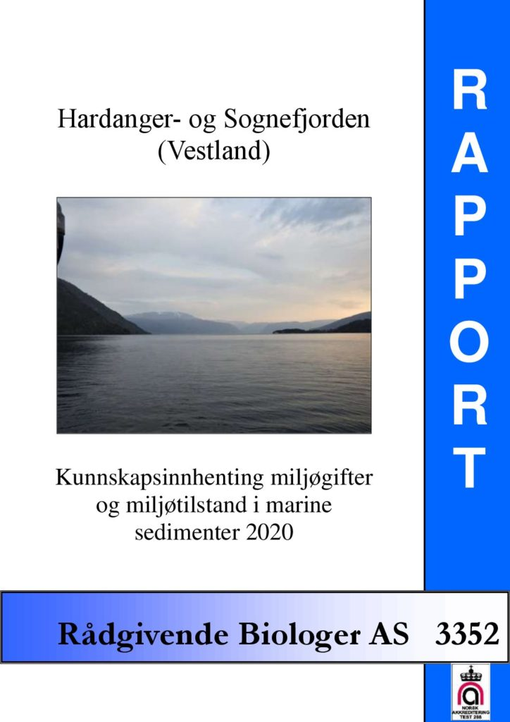 Rapport cover - rapport 3352