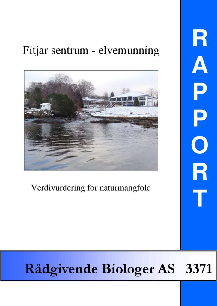 Rapport cover - rapport 3371