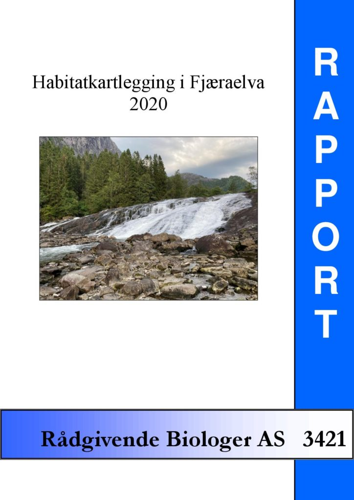 Rapport cover - rapport 3421