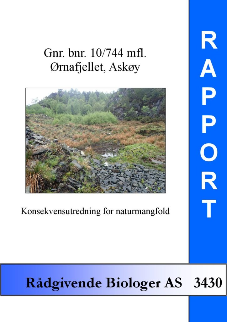 Rapport cover - rapport 3430