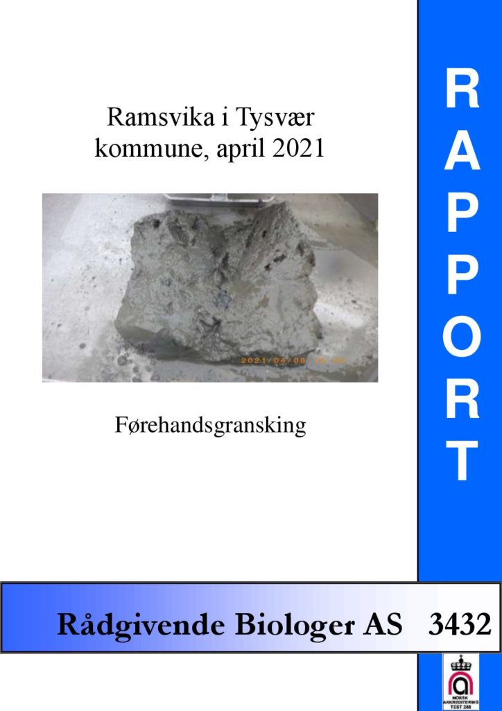 Rapport cover - rapport 3432